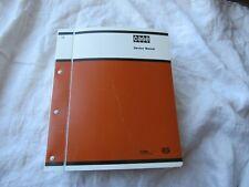 Case 680 680H loader backhoe shop repair service manual Form 9-69300