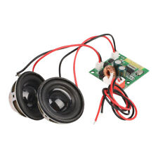 Mini Bluetooth Audio Receiver Amplifier Board Module With Stereo Speakers