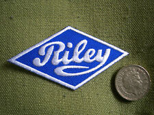 75mm RILEY LOGO MOTORING EMBROIDERED PATCH