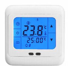 Сенсорный экран теплого пола программируемый термостат комнатной температуры контроллер