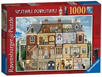 Ravensburger Puzzle UPSTAIRS DOWNSTAIRS Jigsaw Game 1000 piece popular