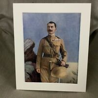 1900 Military Portrait General Leslie Rundle Anglo Egyptian War Original Print