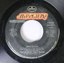 Rock 45 The Robert Cray Band - New Blood / Right Next Door(Because Of Me) On Mer