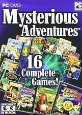 Mysterious Adventures 16 PC Game Window 10 8 7 XP Computer hidden object mystery