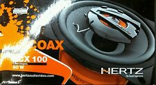 "Hertz Dieci DCX 100.3 2-Way 4"" 60 Watts Car Speakers"