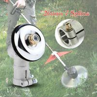 Universal 26mm 7 Spline Gearhead Gearbox For Brush Cutter Strimmer Trimmer Tool