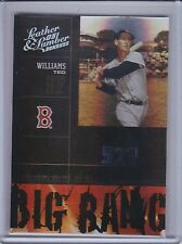 TED WILLIAMS 2005 Leather and Lumber Big Bang Silver #162/200 #25   (B6445)