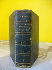 DICTIONNAIRE FRANCAIS-TURC - N. MALLOUF - MAISONNEUVE - 1856