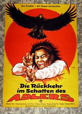 RÜCKKEHR IM SCHATTEN DES ADLERS * A1-Filmposter -German 1-Sheet EASTERN´81 DILL