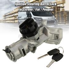 Ignition Barrel Lock Switch & 2 Keys For Peugeot Boxer Citroen Relay Fiat