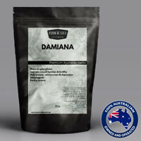 Damiana Turnera diffusa Herbal tea natural aphrodisiac testo stimulant