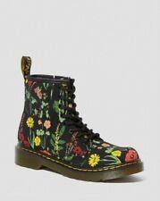 DR MARTENS Women's 1460 Fine Canvas Boot in Wild Botanica UK 4