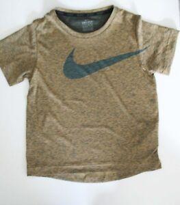 Nike Boys Logo Short Sleeve T Shirt Laser Orange Heather Sz 7 - NWT