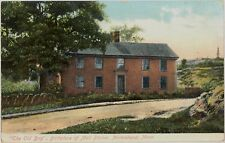c1910 'The Old Brig' Birthplace of Moll Pitcher Marblehead MA postcard view