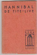 Hannibal de Tite-live (en latin)