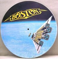 EX/EX Boston Third Stage Vinyl Picture Disc LP Pic Journey Foreigner