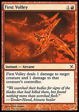 First Volley FOIL NM Betrayers Of Kamigawa MTG Magic Cards Red Common