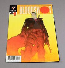 Bloodshot # 1 Ribic variant edition Valiant comic graded 9.8 NM/MT! Ever 50th !!