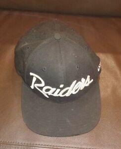 RAIDERS NEW ERA SNAPBACK HAT CAP NFL 9FIFTY WOOL BLEND EAZY E VINTAGE LA Oakland