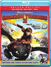 DRAGON TRAINER 2 (3D) (BLU-RAY 3D + 2D + DVD) ANIM. DIGITALE FOX, DELUXE EDITION