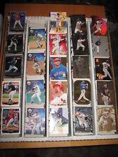 1998 1999 Topps Stars Baseball Base & Inserts Approximately 427 Card Lot
