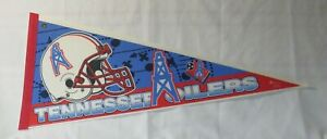 1990s Tennessee Titans NFL Football Pennant