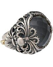 Stephen Webster Jewels Verne Women's Crystal Haze silver Octopus ring size 6