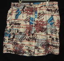 Mens XL Caribbean Joe Swim Trunks Shorts Swimsuit Carribean X-Large