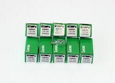 10x Genuine Lucas Capless Bulbs 501 LLB501 12v 5W Side Light Number Plate Bulb