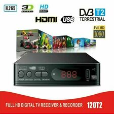 More details for freeview hd set top box plus h.265 recroder digital tv receiver box &usb socket