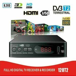 Freeview HD Set Top Box plus H.265 Recroder Digital TV Receiver Box &USB Socket
