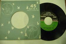 """CARLUCCIO MONGE""""NON E'MAI TROPPO TARDI-disco 45 giri HIFI It 1968"""""""