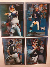 1995 TOPPS FOOTALL QUATERBACK CLUB CARDS ELWAY BLEDSOE KELLY