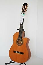 Giannini Classical Handmade Acoustic Electric Nylon Guitar Solid Top, Back&Sides
