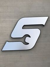 "Snap-on ""S"" Logo Wall Hanging Garage Man CAve"