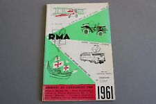 X321 RMA Train Catalogue1961 166 pages 24x15,7 cm F N°2300 JV Hamo Jouef SMCF