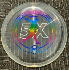 RARE DISCRAFT 5X CRYZTAL PAUL MCBETH LUNA 173-4G ICE CLEAR/RAINBOW ~LSDISCS