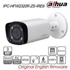 Dahua 3MP Bullet IP Security Camera 4X VF Motor PoE IR P2P H.264 IPC-HFW2320R-ZS