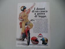advertising Pubblicità 1984 CASCO HELMET JEB'S e PIAGGIO CIAO 50