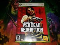 Red Dead Redemption (Microsoft Xbox 360, 2010) COMPLETE WITH MAP MINT DISC!
