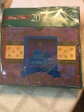 Holiday Time Christmas Cards 20 Xmas Star New