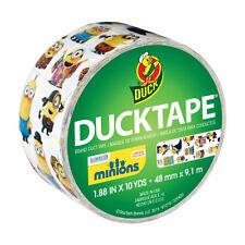 """Minions Duck Tape Duct Tape- 1.88""""x10yd Roll 48 mm x 9.1m NEW KAWAII"""