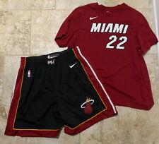 Miami Heat Nike Icon Swingman Shorts Mens Sz 2XL Jimmy Butler Shirt XL