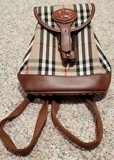 Vintage Burberry Mini Backpack