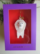 Kate Spade Woodland Park Lion Lenox China Christmas Ornament Nib