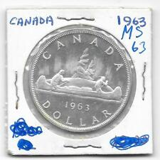 1963 CANADIAN SILVER DOLLAR (VERY NICE)