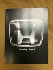 2000 factory brochure of optional clothing and gift items for the Honda S2000