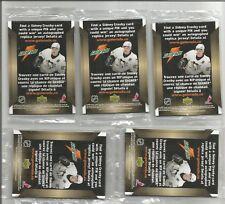 Lot of 5 Packs of 2007 Gatorade cards Montreal, Toronto, Calgary, Edmonton