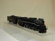 HO Bachmann #50904 Steam Berkshire  Loco 2-8-4& Tender C&O RR # 2528 DCC Equippe