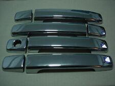 CHROME HANDLE BOWL INSERT COVER CAB 4 DOORS DUAL FOR NISSAN NAVARA D40 05-15 06